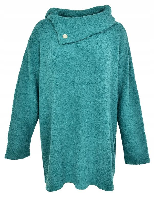eAC7555 BPC ciepły zielony sweter 56/58