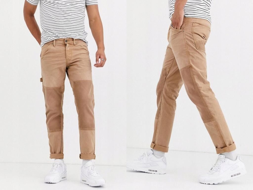 G-Star Faeroes Proste jeansy skinny W32/L32