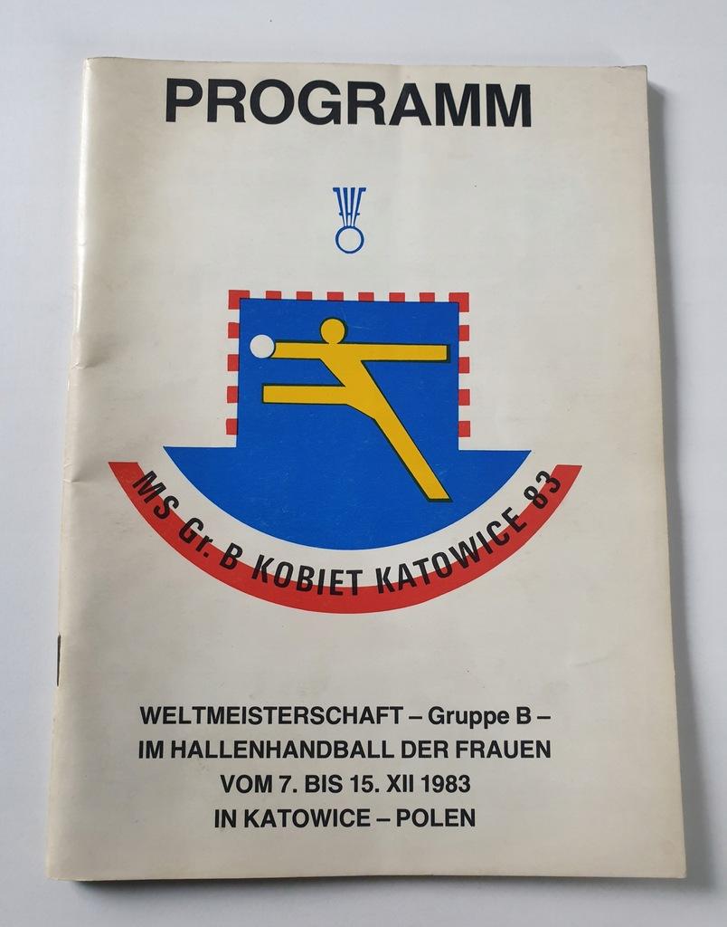 PROGRAM M.Ś. W PIŁCE RĘCZNEJ DYW.B KOBIET K-CE1983
