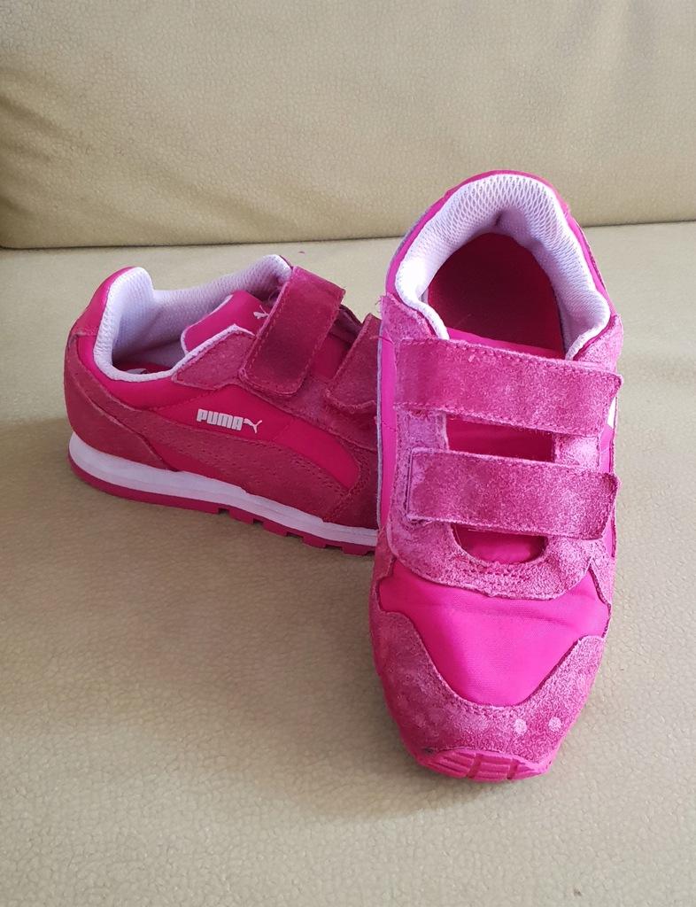 buty różowe puma rozmiar 32