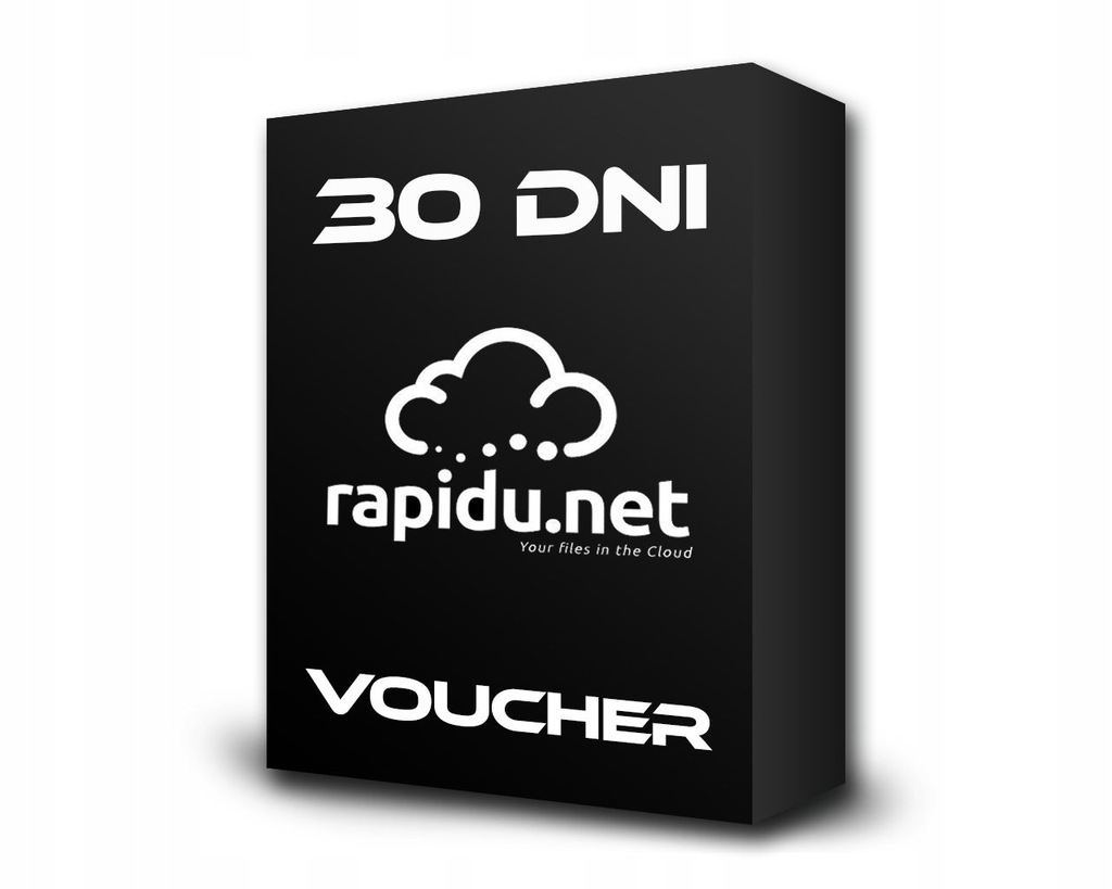 RAPIDU.NET 30 DNI PREMIUM KOD VOUCHER 50 GB / 24 H