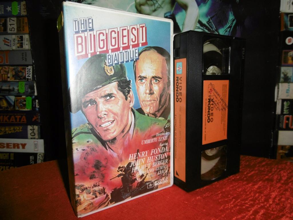 THE BIGGEST BATTLE / 1978 / VIDEO RONDO - UNIKAT