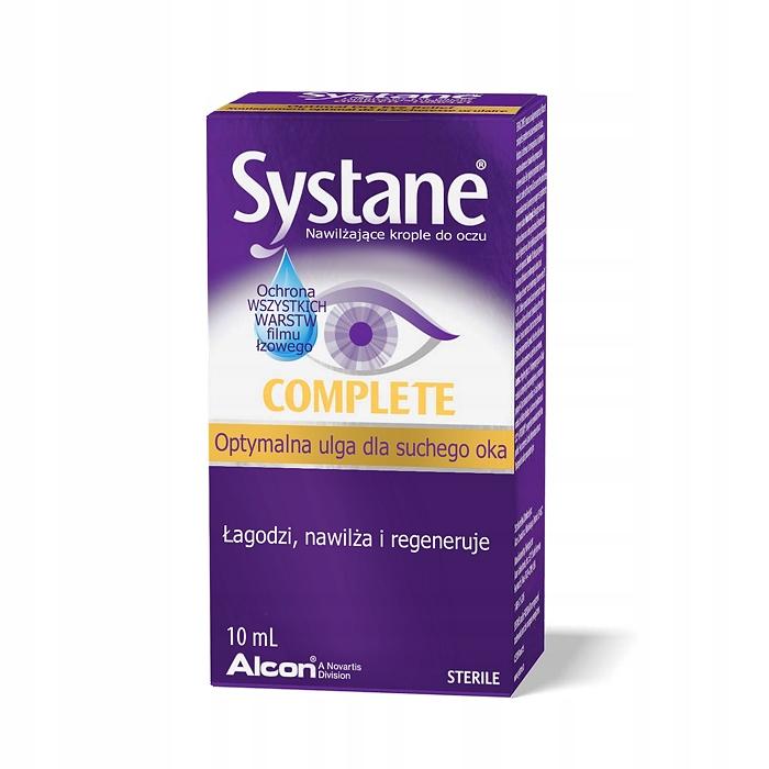 Krople nawilżające do oczu Systane Complete 10ml