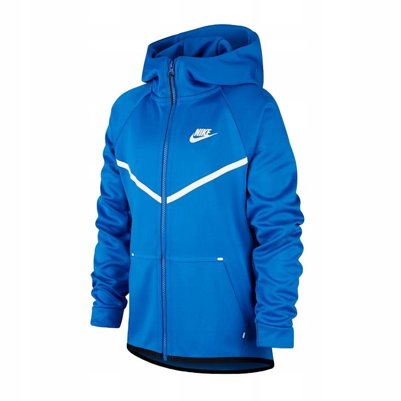 Nike JR NSW Hoodie FZ Bluza 403 L 152 cm