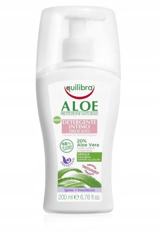 Equilibra Aloe Delikatny Żel do higieny intymnej