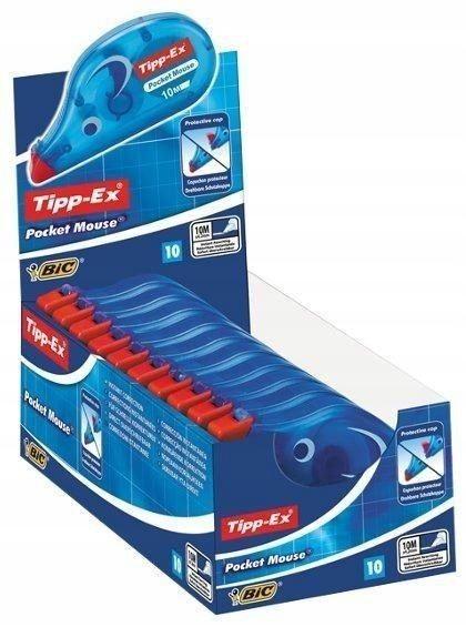 Korektor Pocket Mouse w Taśmie (10szt) BIC