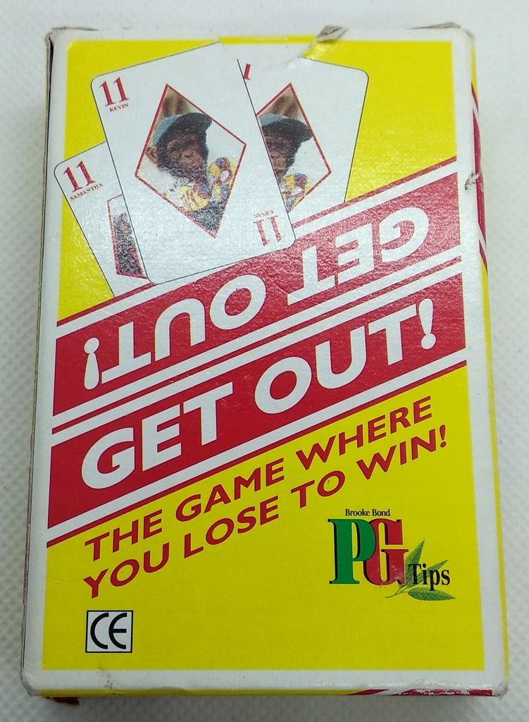 Gra karciana Get Out! Przegraj żeby wygrać