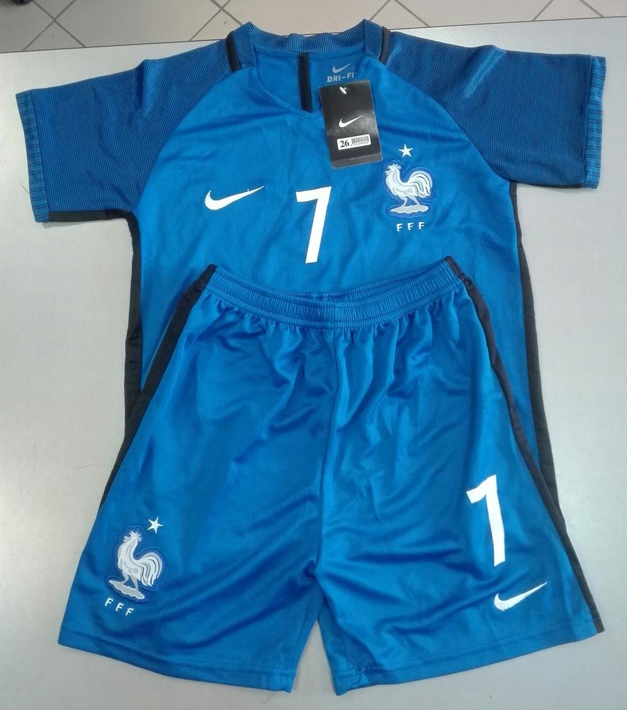 Komplet dziecięcy Nike Reprezentacji Francji 152cm