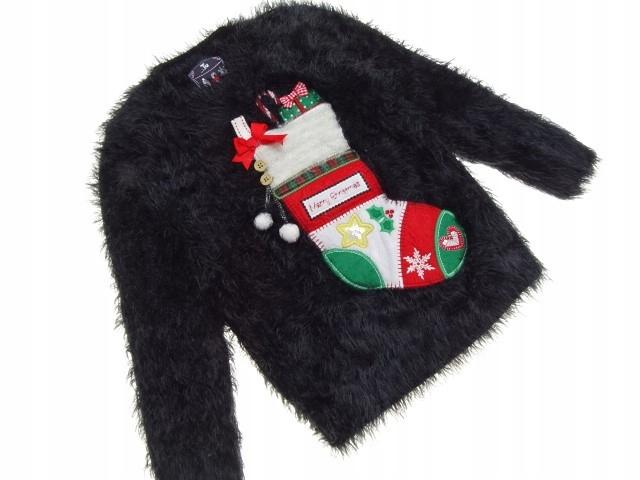 84__TU__ świąteczny sweter dziecięcy WŁOCHACZ__116