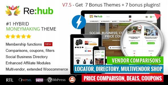 Szablon REHub Wordpress Theme