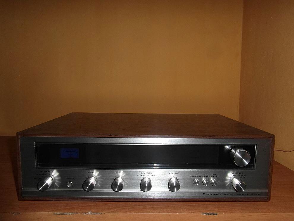 Amplituner stereo Pioneer SX-300 FM/AM Retro!!!