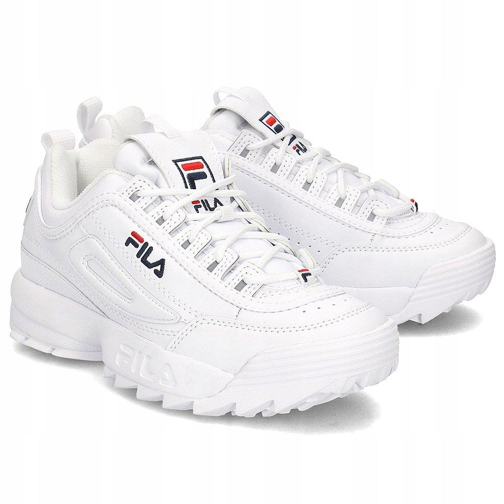 FILA Disruptor Low Białe Sneakersy R.36