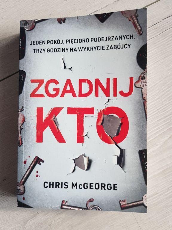 Książka Zgadnij kto - Chris McGeorge NOWA pomagaj