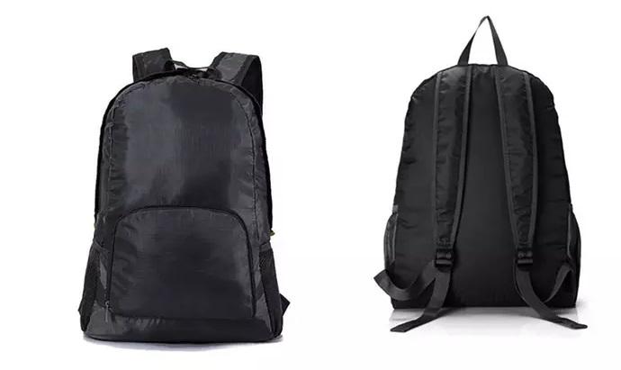 Plecak Turystyczny Składany Mały Czarny