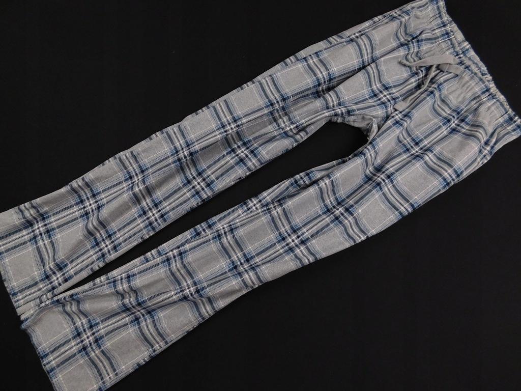 3101g26 NEXT spodnie DRESOWE szare KRATA męskie S