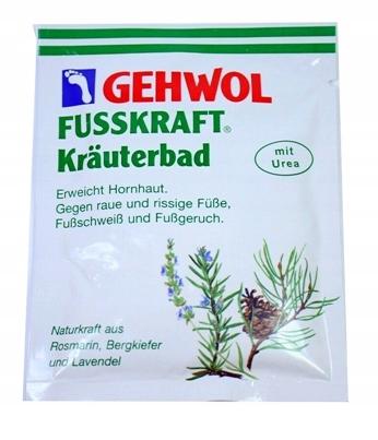 Sól do stóp GEHWOL ziołowa 1 szt 25 g
