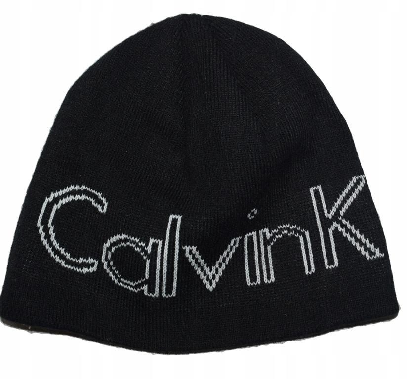 Calvin Klein Golf ciepła czapka na zimę