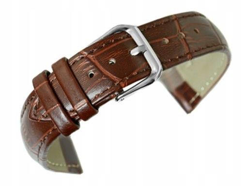Pasek do zegarka - Skóra 18 mm - Brązowy