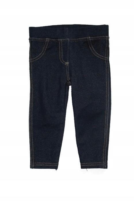 G620 Getry legginsy jak jeansy 74