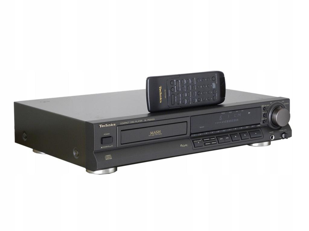 TECHNICS SL-PG540A - udany odtwarzacz CD