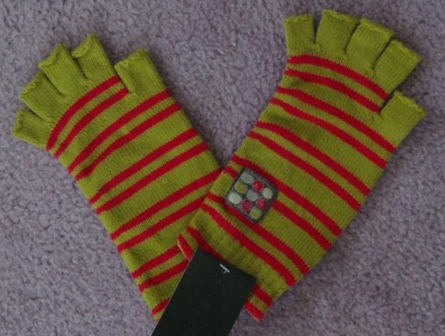 Rękawiczki bez palców firmy Coccodrillo roz 7-9lat