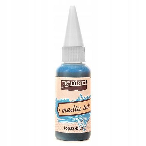 Tusz Media Ink - Pentart - topaz, 20 ml