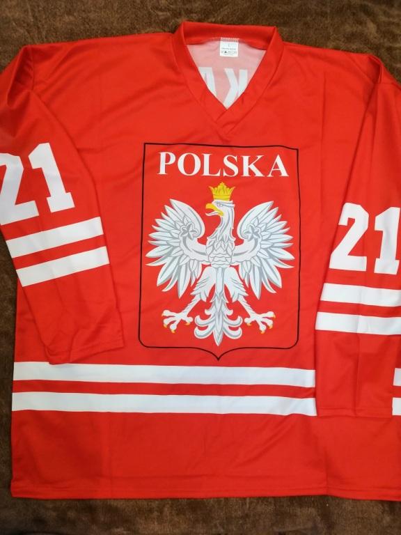 Mariusz Czerkawski  koszulka POLSKI + zdjęcie