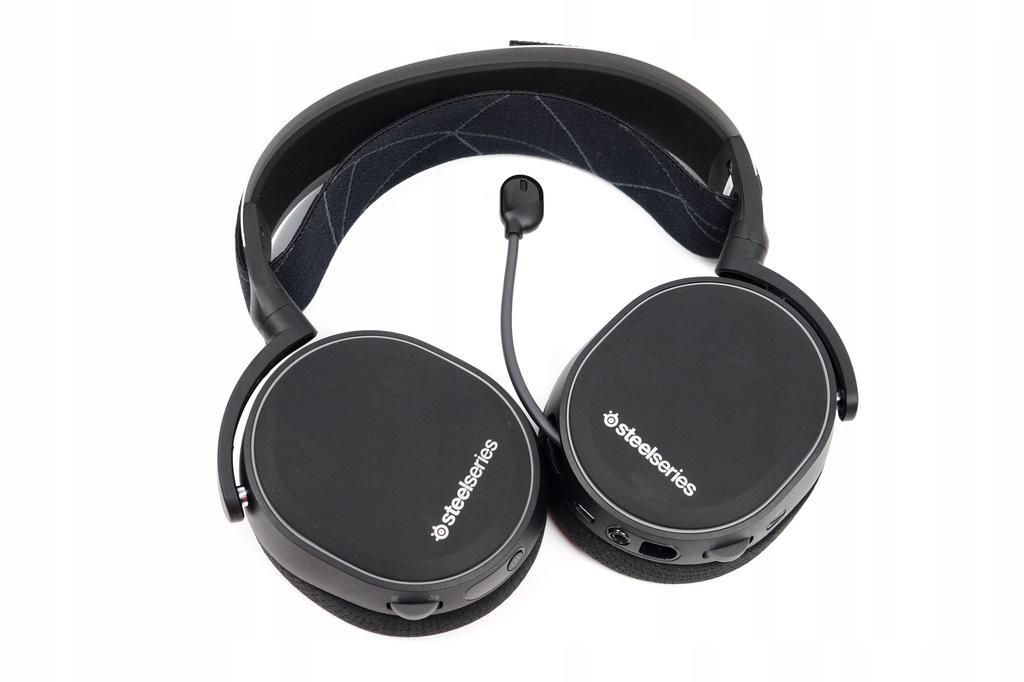 Słuchawki nauszne SteelSeries Arctis 7 Czarne