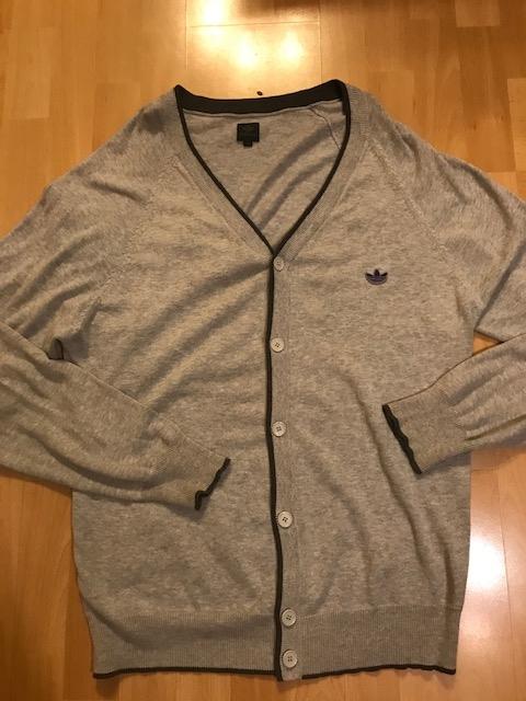 Adidas sweter rozm XL szary