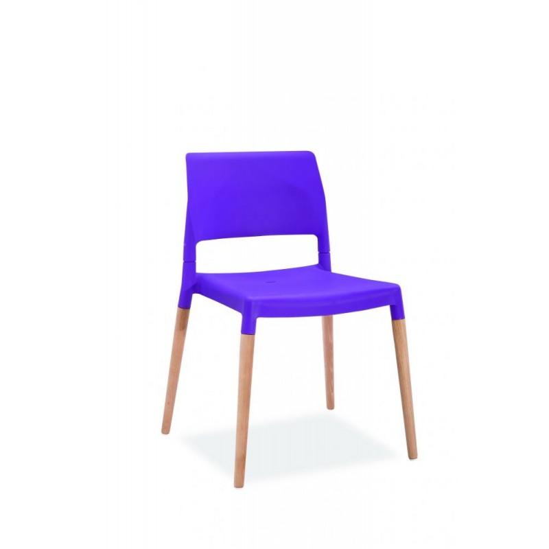 Krzesło Base niebieskie