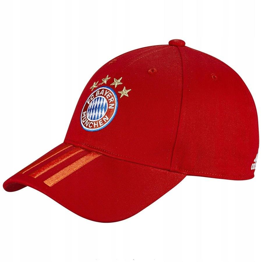 Czapka adidas FC Bayern 3S DY7677 czerwony OSFM