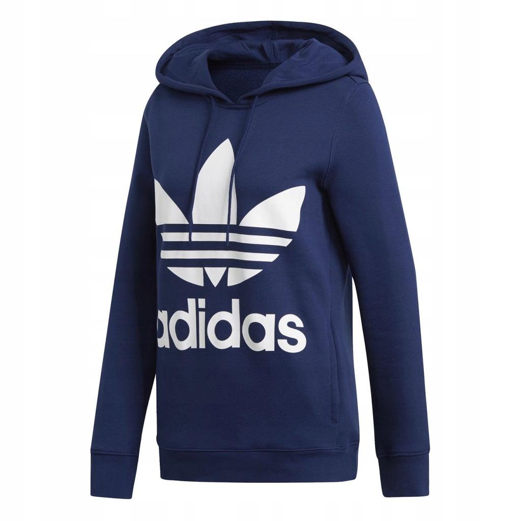 Bluza Damska Adidas Trefoil Niebieska Dv2568 38 7956023555 Oficjalne Archiwum Allegro