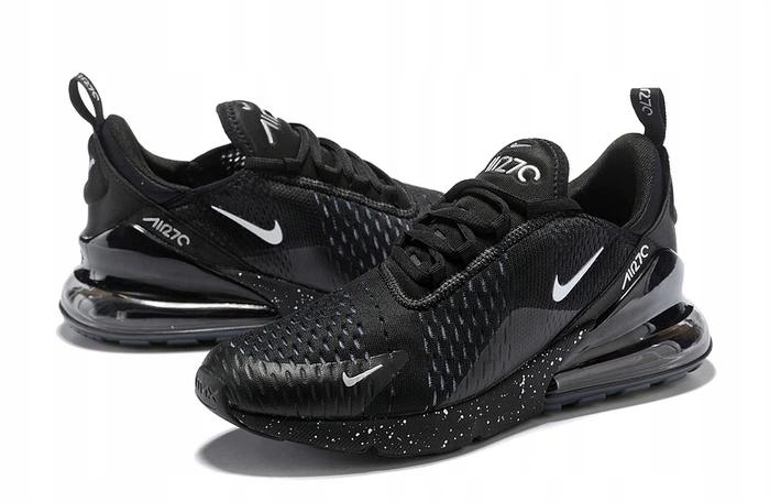 buty nike air max 270 czarne oreo