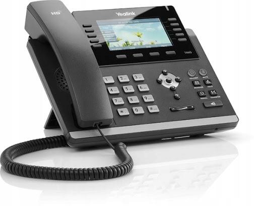 Yealink IP VOIP SIP T46G, WIFI + zasilacz stan BDB