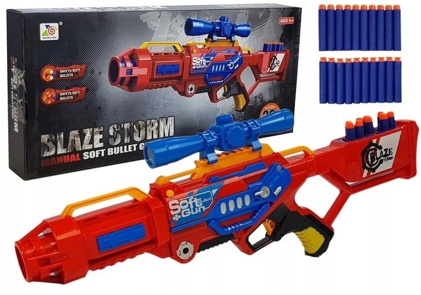 Pistolet na Strzałki Piankowe Karabin 20strzałek