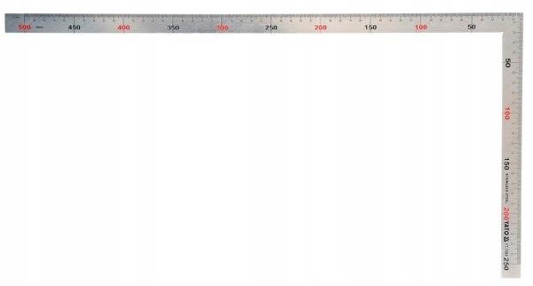 YATO KĄTOWNIK STALOWY INOX 150x300mm 7083