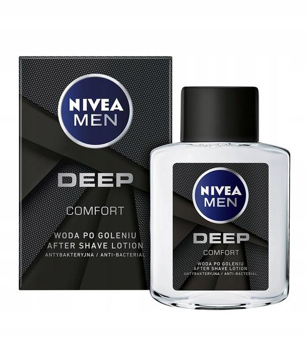Nivea Men Deep 100 ml woda po goleniu