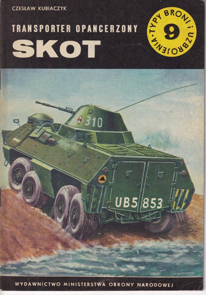 Transporter opancerzony SKOT - TBiU 9