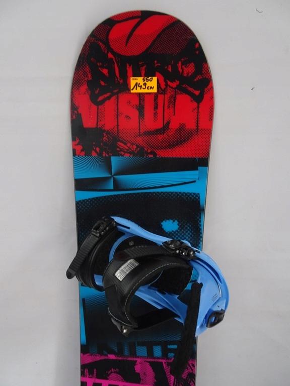Deska snowboardowa NITRO 149 cm