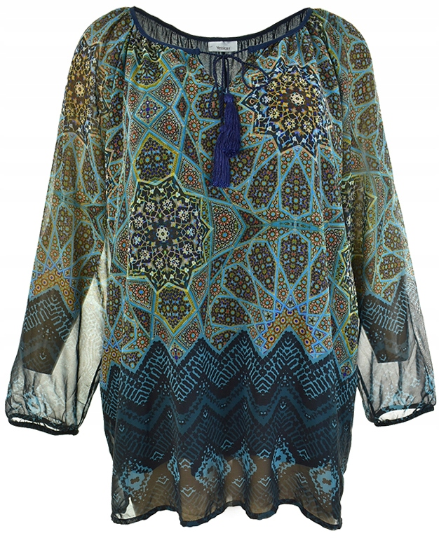 pAAA2042 C&A wzorzysta bluzka z chłostami_54