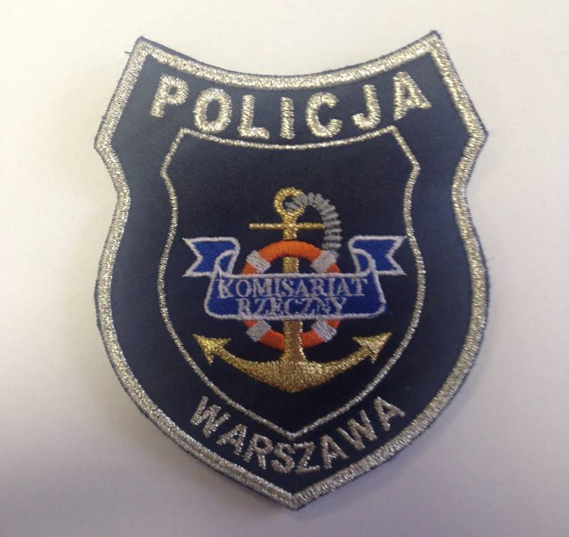 POLICJA Naszywka Komisariat Rzeczny Warszawa