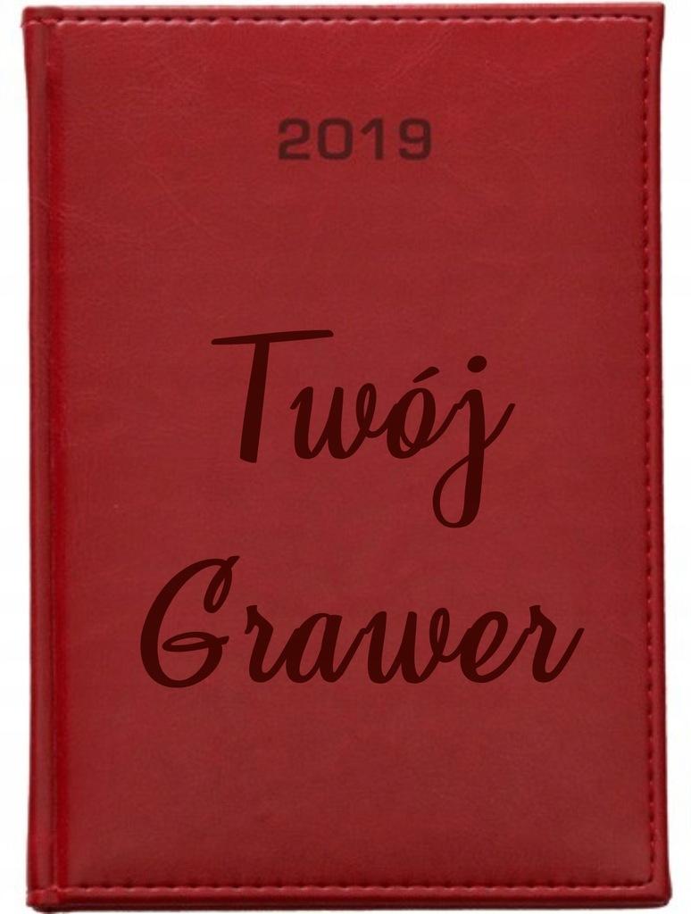 Kalendarz Terminarz A4 Dzienny 2019 Z Grawerem Lux 7517917619 Oficjalne Archiwum Allegro