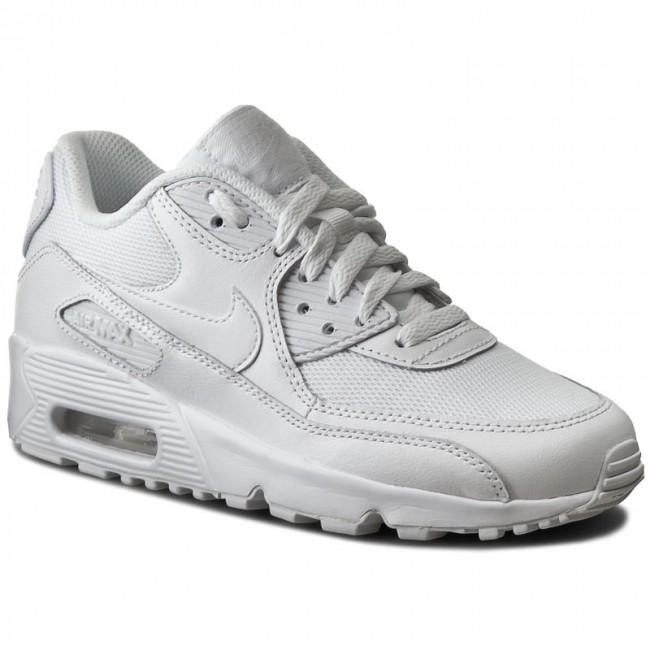 BRK Sneakersy NIKE AIR MAX 90 MESH gs białe półbuty 38