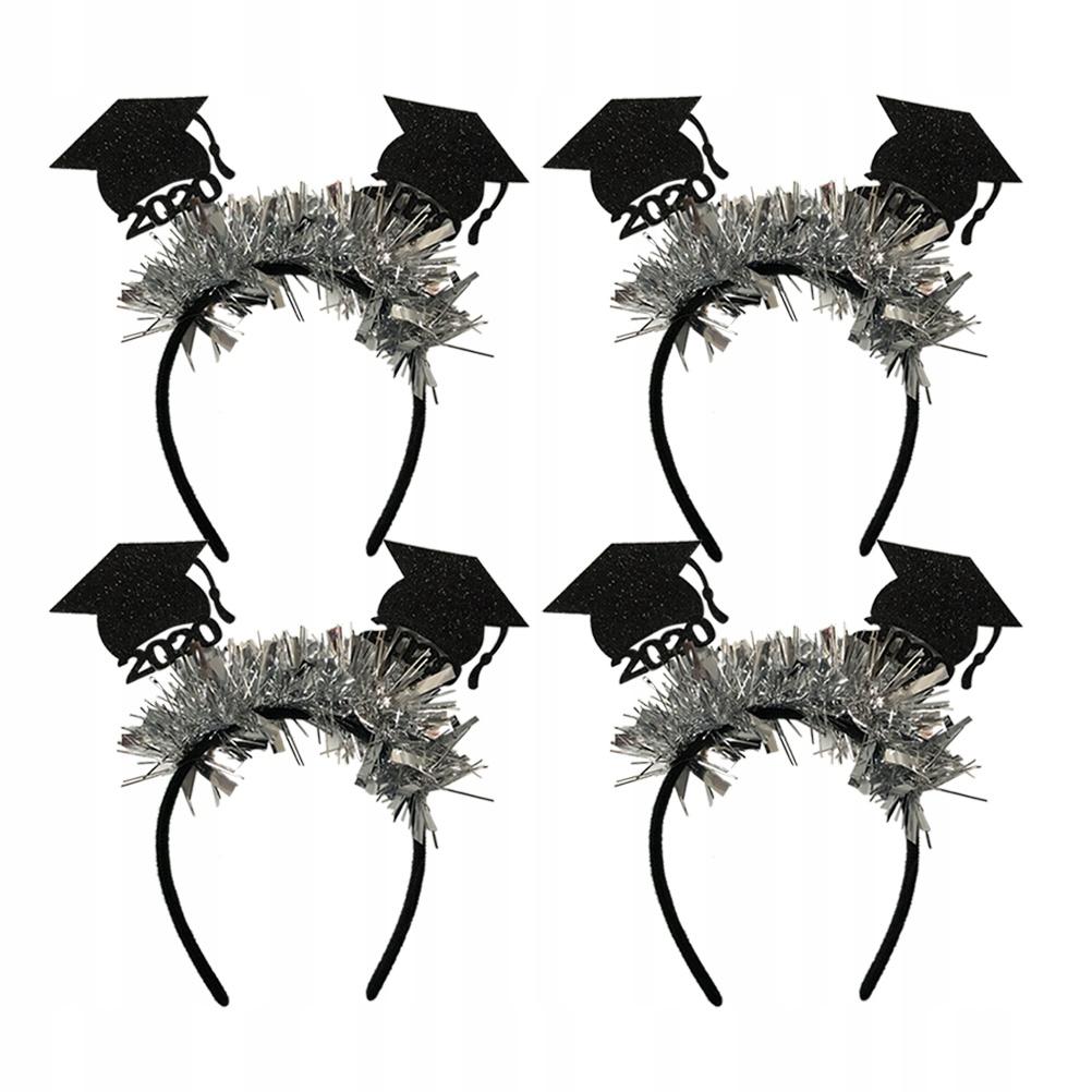 2szt Mini Doctor Hat Design Opaska do włosów Włókn