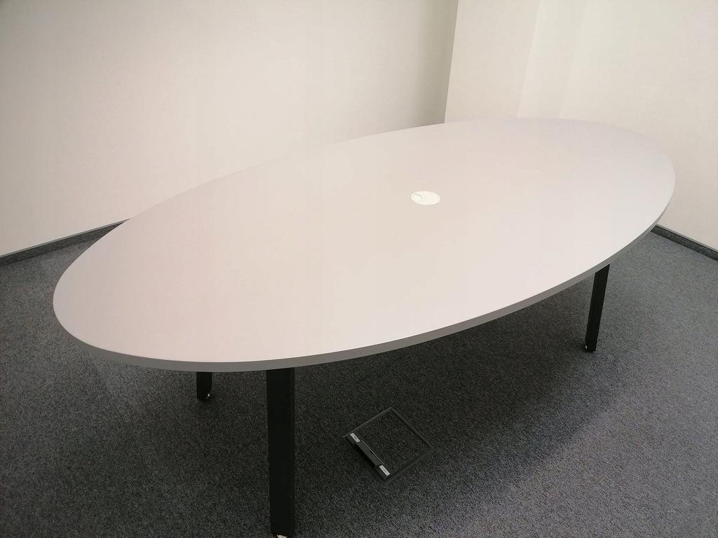 Stół konferencyjny owal loftowy bankietowy 100x200