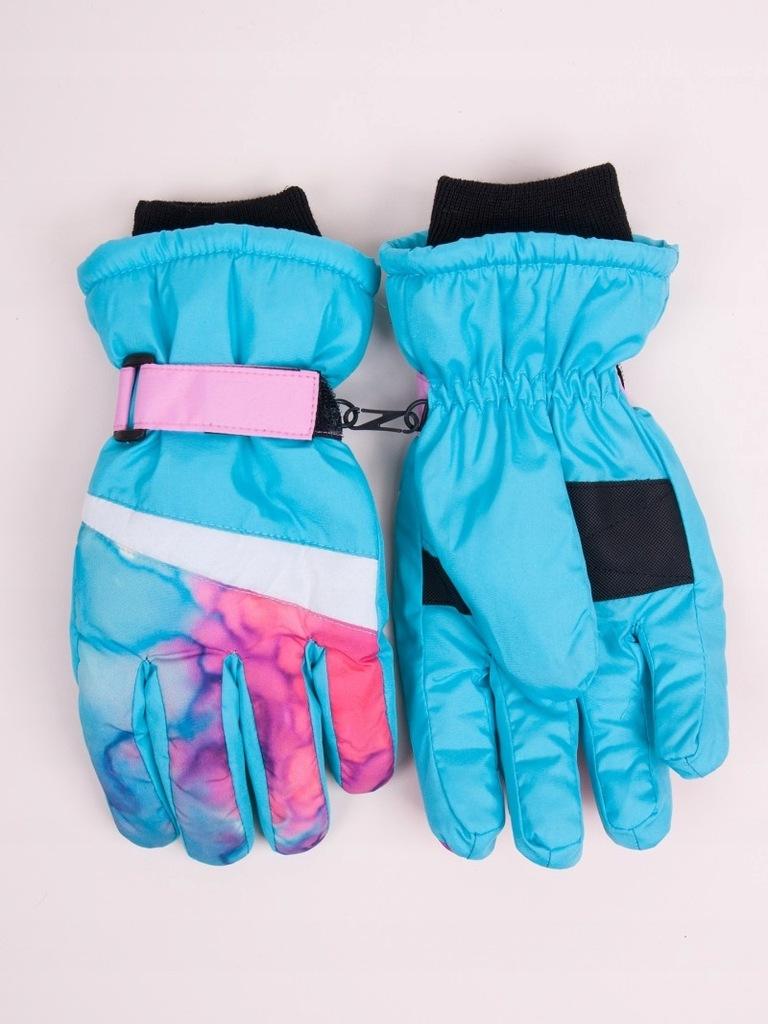 Rękawiczki narciarskie ortalionowe nieprzema R18YO