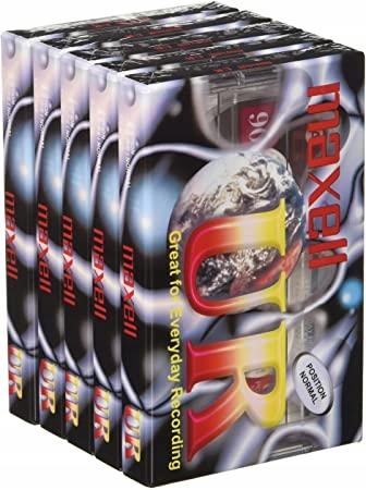 94BJ Kaseta magnetofonowa Maxell UR 90 (5 SZT)