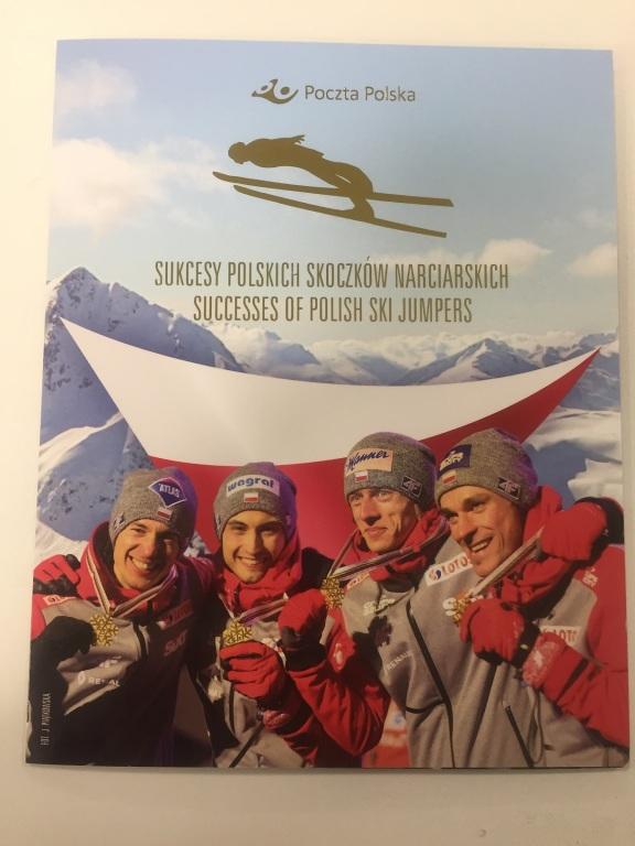 Folder Sukcesy Polskich Skoczków, autografy