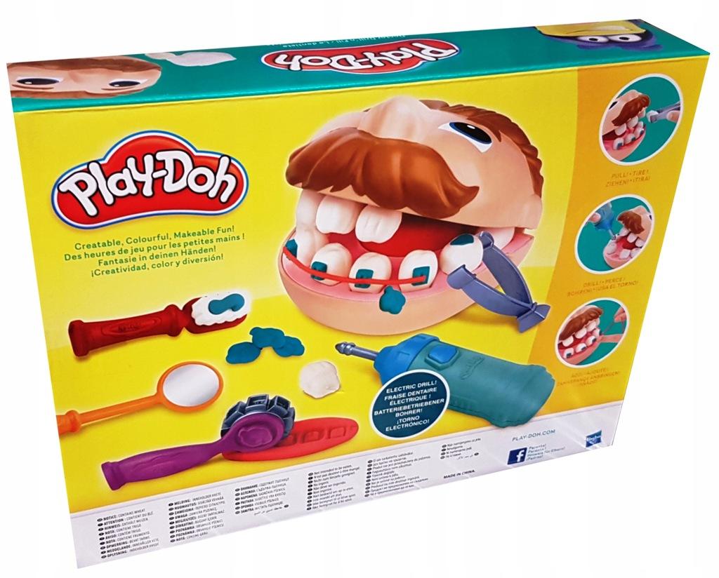 Play Doh Dentysta Zestaw Ciastolina Hasbro 7777587266 Oficjalne Archiwum Allegro