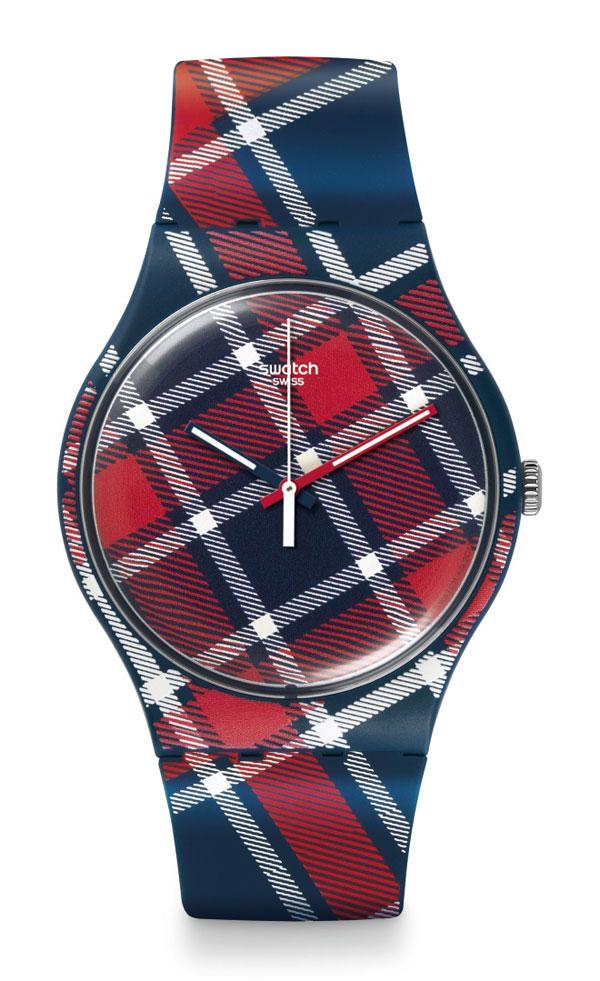 Zegarek Swatch COLOR-KILT SUON109 New Gent